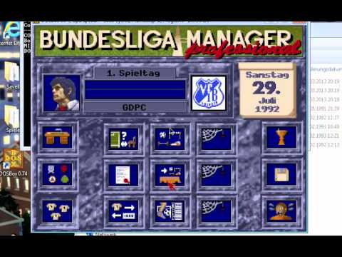 Gdpc Bundesliga Manager Professional Auf Windows Vista