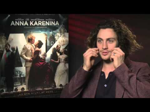 Aaron Taylor-Johnson Interview -- Anna Karenina