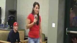 Brockport Idol- Karen Dillon- Loving Touching Squeezing
