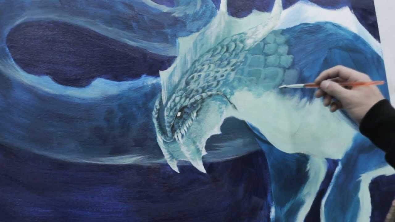 Sea Dragons Drawings Acrylic Sea Dragon Speed