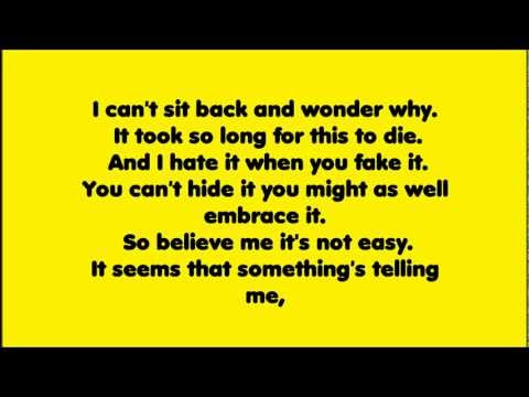 Sum 41 - In Too Deep Lyrics
