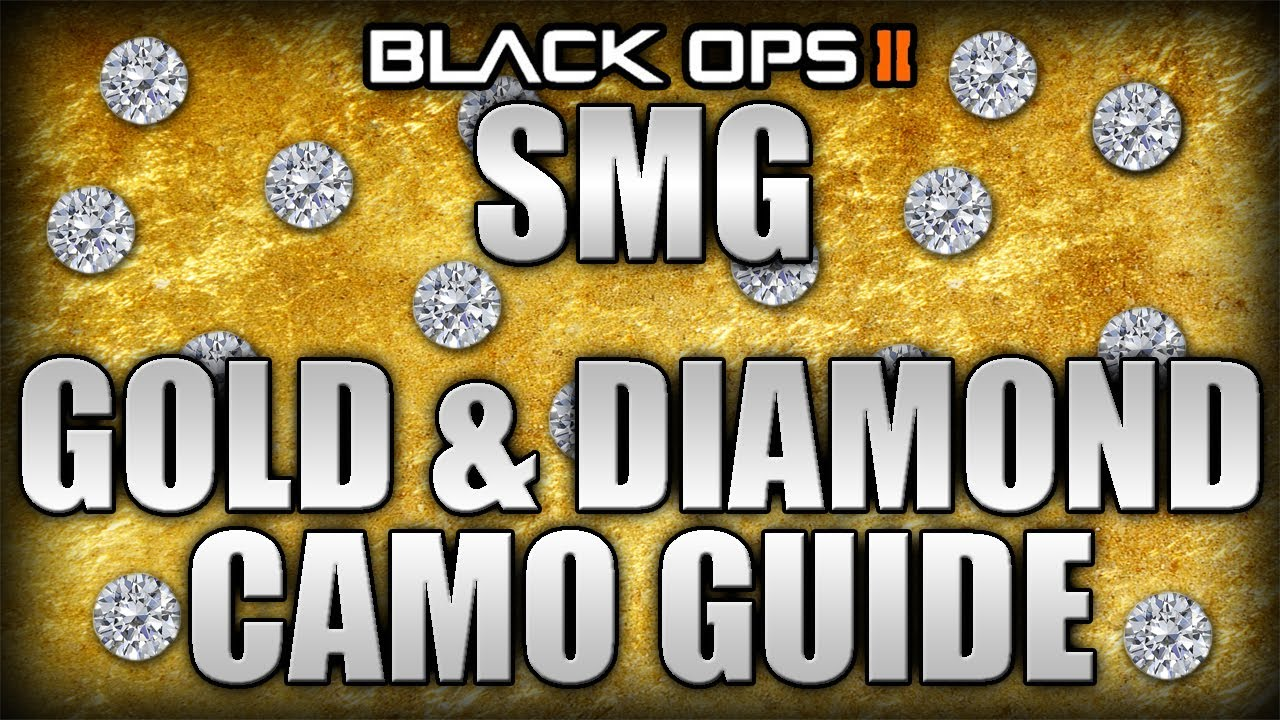 Gold Camo Black Ops 2 Black Ops 2 | Smg Gold