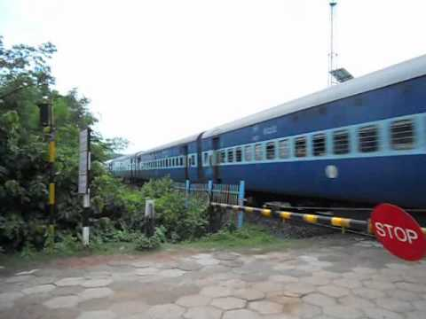 INTERCITY EXPRESS crossing Tetelia, Assam.