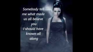 Watch Evanescence It Was All A Lie video