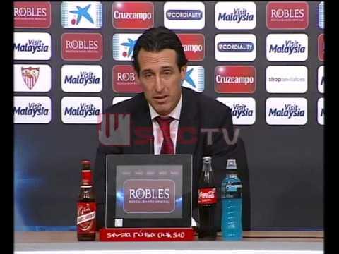 Rueda de prensa de Unai Emery post partido Sevilla FC 5-1 Granada CF