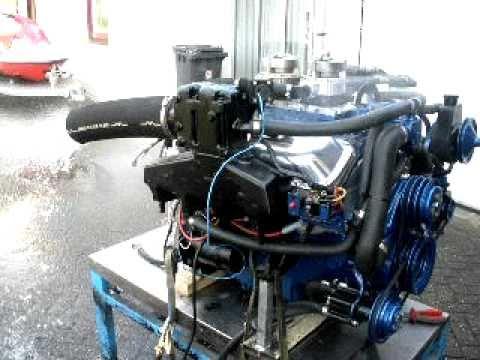 GM / MerCruiser / Edelbrock 496 V8 (454 stroker) Marine motor op LPG!