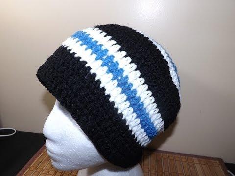 Crochet Gorro de Adulto (Masculino)