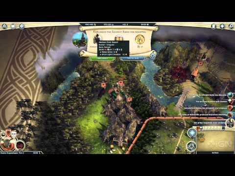 18 Minutes of Age of Wonders III Gameplay