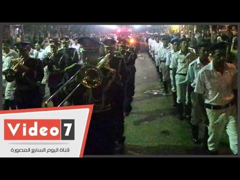 بالفيديو.. جنازة عسكرية لتشيع جثمان شهيدين من ضحايا مذبحة رفح بالمهندسين