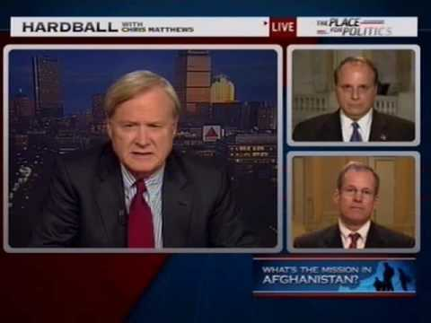 Congressman Jack Kingston Talks Afghanistan on MSNBC's Hardball with Chris Matthews