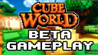 CUBE WORLD BETA GAMEPLAY - Everything DESTROYS You!