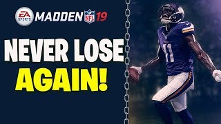 Never Lose Another Game In Madden 19 With This New Money Play!