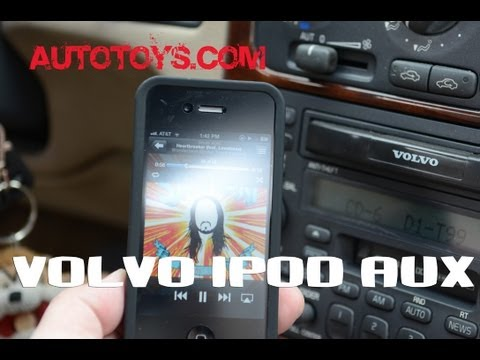 VOLVO IPOD adapter SC radios by Blitzsafe & AutoToys.Com (direct sound no fm modulator)