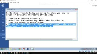 How to activate Microsoft office 2013 permanently