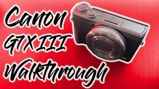 03. Canon Powershot G7X Mark III Walkthrough