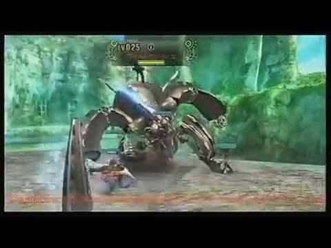 Xenoblade Nintendo Wii Trailer - Battle Gameplay
