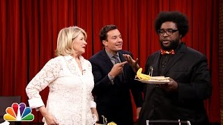 Martha Stewart and Jimmy Have a Cubano Sandwich Face-Off