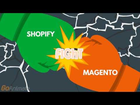 Technology of the week- Shopify & Magento