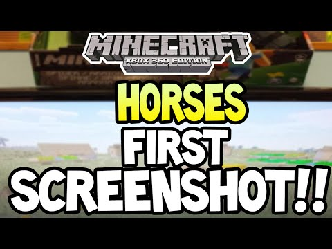 Minecraft Xbox360 PS3 TU19 UPDATE HORSES HOPPERS SCREENSHOT + MORE FEATURES