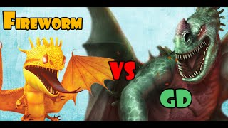 Fireworm Queen vs Green Death