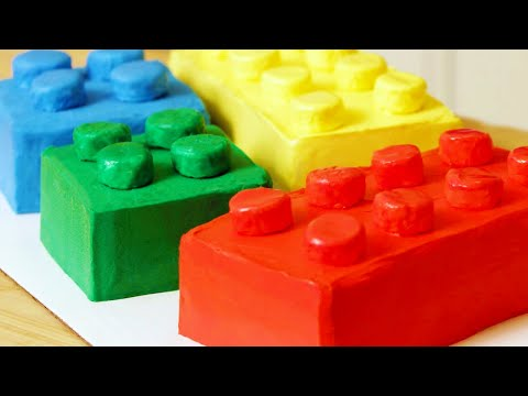 HOW TO MAKE A LEGO CAKE - NERDY NUMMIES