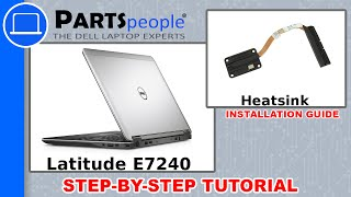 Dell Latitude E7240 Heatsink How-To Video Tutorial