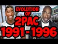 The Evolution Of 2Pac 1991-1996 (Tupac Shakur) Timeline Fan Point Of View