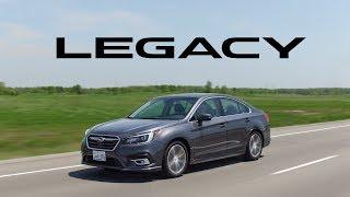 2018 Subaru Legacy 3.6R Review - So Comfortable, So Plain