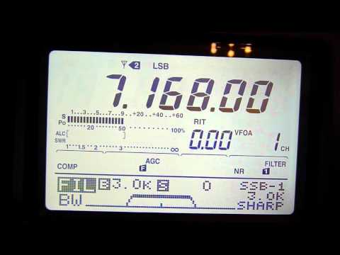 Icom IC-7400 on 40 metres