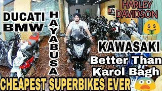 Cheapest SuperBike PART-2|Best Place to Buy Second Hand Superbikes in Delhi|Hayabusa in Cheap price