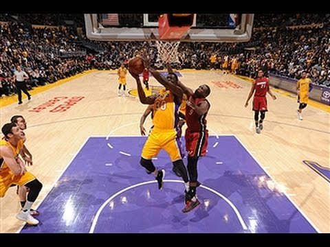 Miami Heat vs Los Angeles Lakers - March 30, 2016