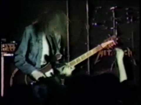 Metallica: Cliff Burton's solo + Whiplash (slightly better quality)