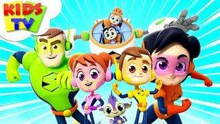 Meet The Supremes   Superheroes Cartoons   Nursery Rhymes For Children - Kids TV