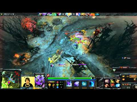 Dota 2 Purge plays Offlane Void