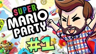 SUPER MARIO PARTY - LETS DO THIS! - Part 1