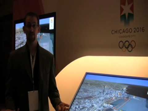 TouchTV Demo: Chicago 2016 Olympic Bid by Infusion Video