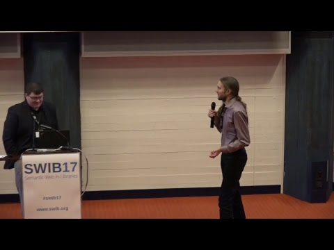 LIVESTREAM: SWIB17 - Semantic Web Libraries - 5.12.