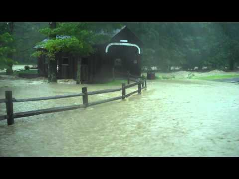 Grafton Village Cheese Company Safe After Flood Bryce LeVan Cushing Video