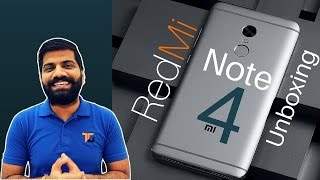 Xiaomi Redmi Note 4 Unboxing and Hands on Review