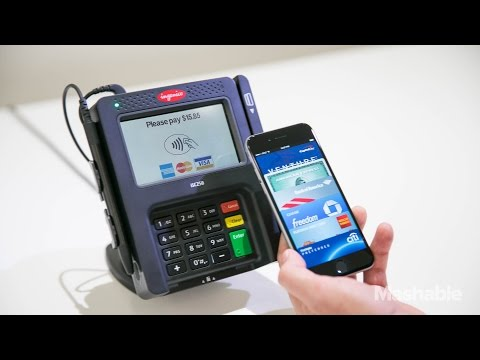 Apple Pay Hands On   Mashable