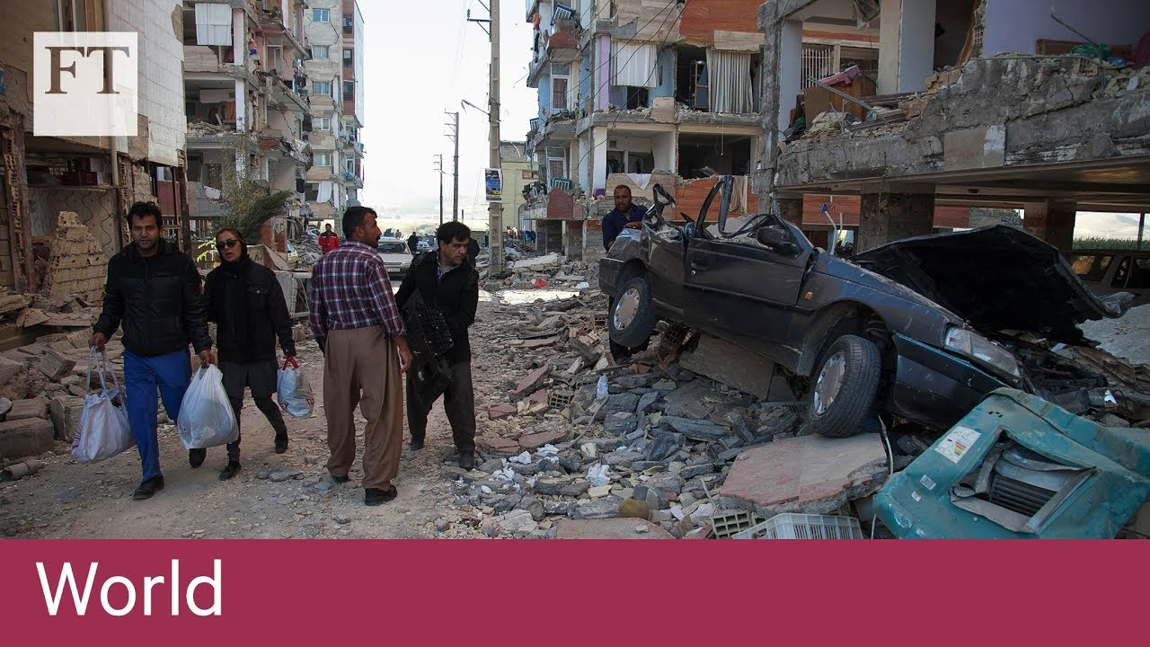 Earthquake kills hundreds in Iran and Iraq