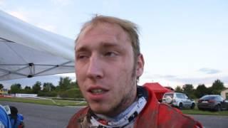 Hungarian Baja 2016: intervista a fine prologo con Luca Tavernari