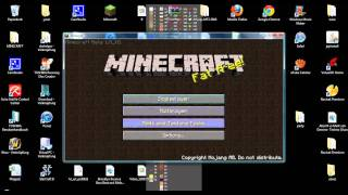 MINECRAFT TUTORIAL How To Install Misas HD TEXTURE PACK für beta 1.5_1 (german)