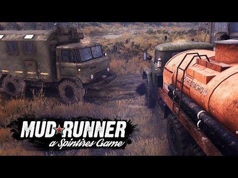 Spintires MudRunner  19 RUS ПЛАТО