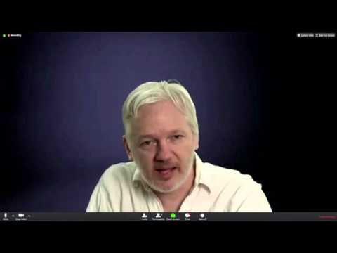 ~Julian Assange Speech~ DiEM25 Berlin 09/02/2016