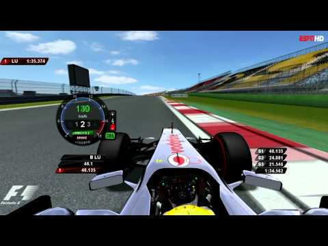 [rFactor]F1 2011 Lewis Hamilton Pole Lap@Korea International Circuit