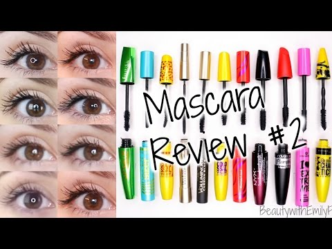 Mascara Reviews    BEST & WORST   Drugstore + EYE PICTURES