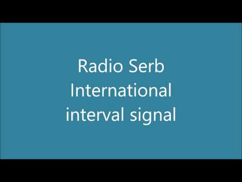 Radio Serbia International interval signal
