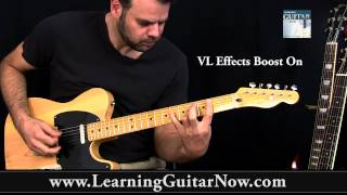 Classic Vibe Tele Standard Tuning Blues Demo