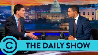 The Daily Show   David Miliband on Trump